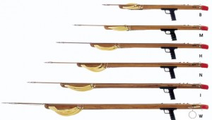 band sling speargun sizes