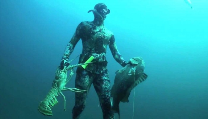 Spearfishing Videos Are Good For Learning