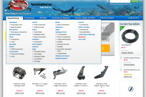 spearfishing world online store