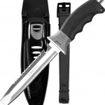 Cressi Borg Long Blade Diving Knife