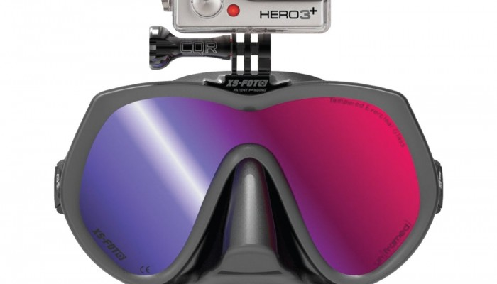 GoPro Diving Mask by XS Foto with UV Ray Blocking Tint