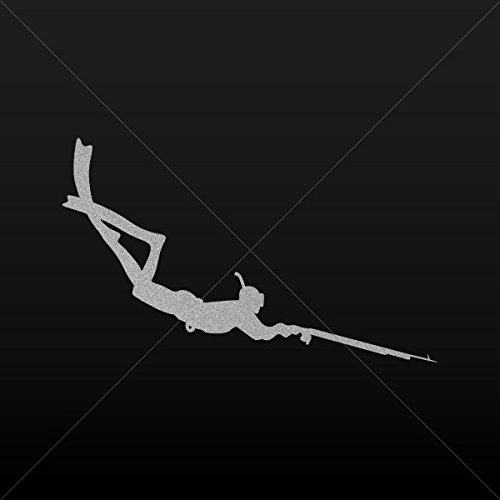 Spearfishing Diver Stickers